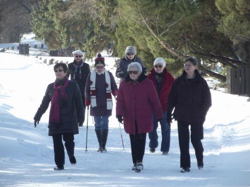 in motion Family Day - Saskatoon Seniors Globe Walk