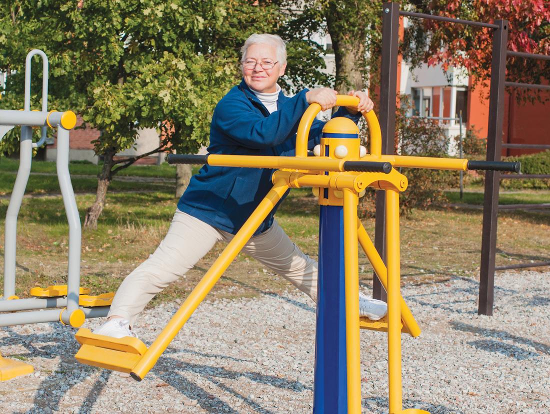 Older Adults At Play